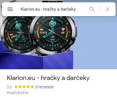reviews on google profile