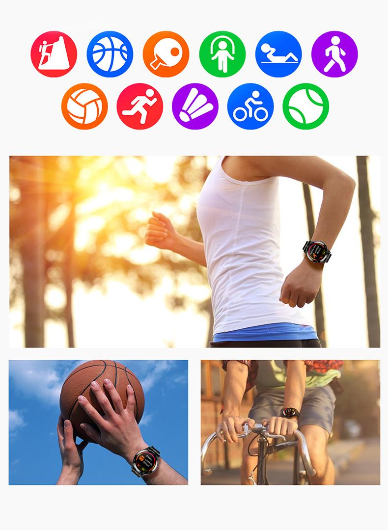 športujte so športovými hodinkami