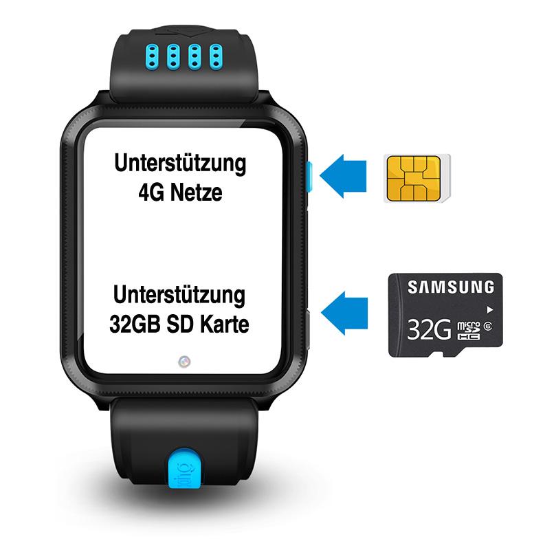 podpora 4G sietí a SD kariet